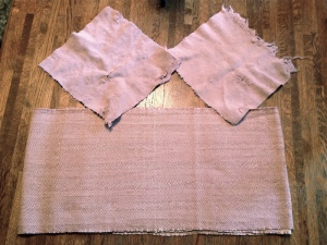 """Table runner and two of the """"napkins"""""""